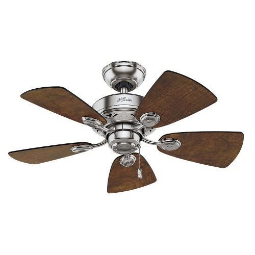 Hunter-Fan-Company-Watson-34-Inch-Snow-White-Ceiling-Fan-with-Five-Snow-WhiteBleached-Oak-Blades-and-a-Light-Kit-0-0