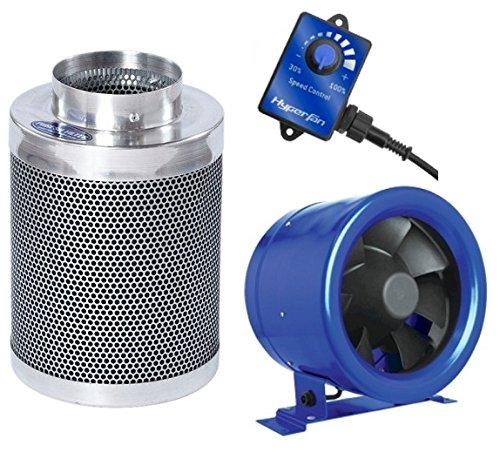 Hyper Fan 8 Phresh 8 X 24 Carbon Filter Combo Package