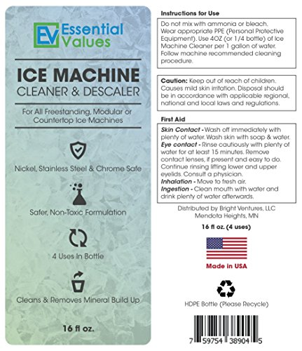 Ice-Machine-Cleaner-Nickle-Safe-Descaler-Scale-Remover-Universal-Application-For-Whirlpool-4396808-Manitowac-Ice-O-Matic-Scotsman-Follett-Ice-Makers-By-Essential-Values-16OZ-0-2