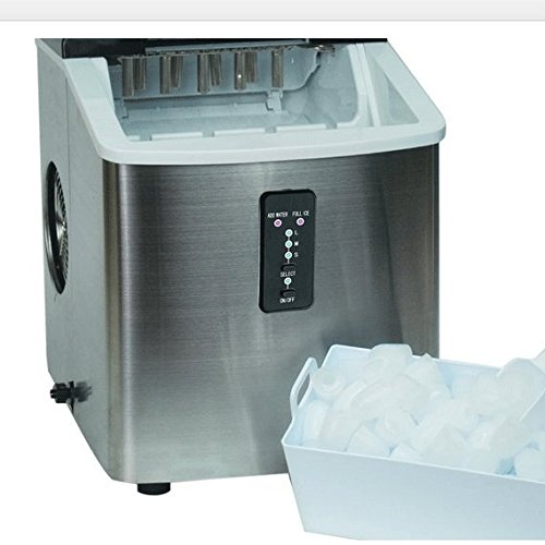 Ice-Machine-Portable-Counter-Top-Ice-Maker-MachineTG22-Produces-26-lbs-Of-Ice-Per-24-Hours-Stainless-Steel-By-ThinkGizmos-trademark-protected-0-0
