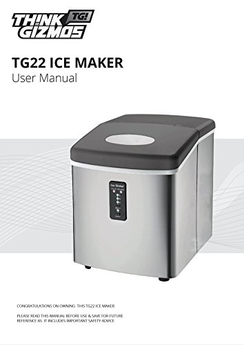 Ice-Machine-Portable-Counter-Top-Ice-Maker-MachineTG22-Produces-26-lbs-Of-Ice-Per-24-Hours-Stainless-Steel-By-ThinkGizmos-trademark-protected-0-1