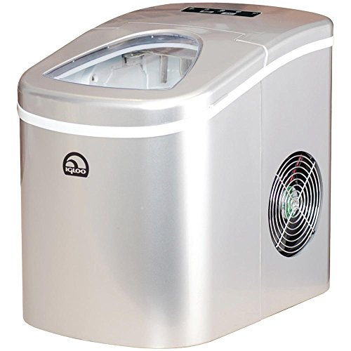 Igloo-EKU-ROG-WHT-ICE108-SILVER-Compact-Ice-Maker-0