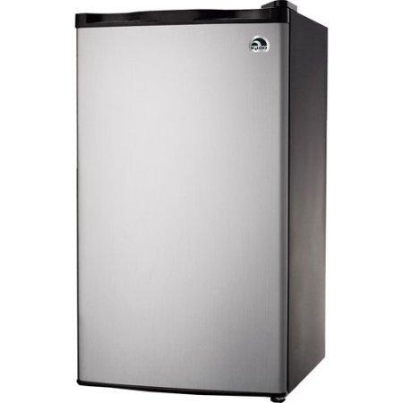 Igloo-FR322-32-cu-ft-Refrigerator-and-Freezer-Platinum-Color-Compressor-cooling-CFC-free-Flush-back-design-0