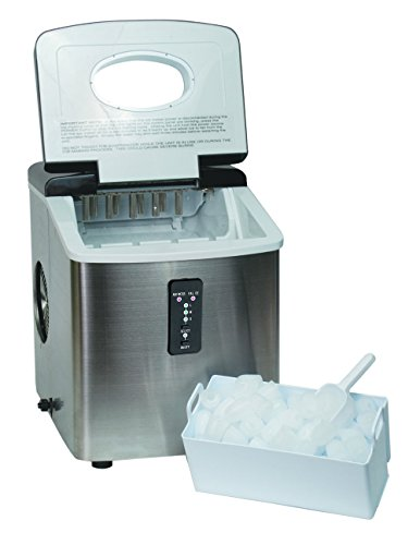 Igloo-ICE103-Counter-Top-Ice-Maker-with-Over-Sized-Ice-Bucket-Stainless-Steel-0-0