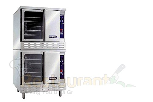 Imperial-Commercial-Convection-Oven-Double-Deck-Standard-Depth-Natural-Gas-Model-Icv-2-0