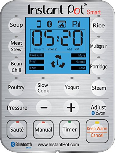 Instant-Pot-IP-Smart-Bluetooth-Enabled-Multifunctional-Pressure-Cooker-Stainless-Steel-0-0