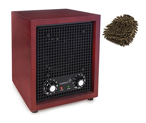 Ivation-IVAOZP001-Air-Purifier-Ozone-Generator-Ionizer-Deodorizer-Complete-Set-w-Bonus-Premium-Microfiber-Cleaner-Bundle-0