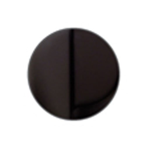 Jaclo-2815-MBK-Disposal-Flange-with-Stopper-Matte-Black-0-0
