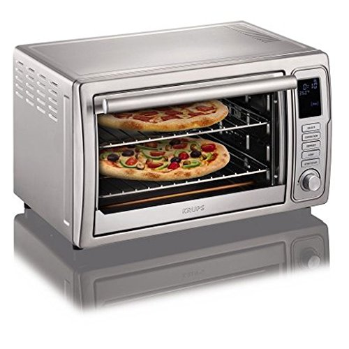 KRUPSDeluxe-Convection-Toaster-Oven-Stainless-Steel-2280-x-1870-x-1550-Inches-0-0
