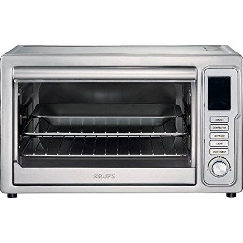 KRUPSDeluxe-Convection-Toaster-Oven-Stainless-Steel-2280-x-1870-x-1550-Inches-0
