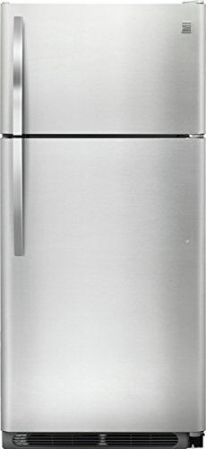 Kenmore-18-cuft-Top-Freezer-Refrigerator-with-Glass-Shelves-in-Stainless-Steel-0