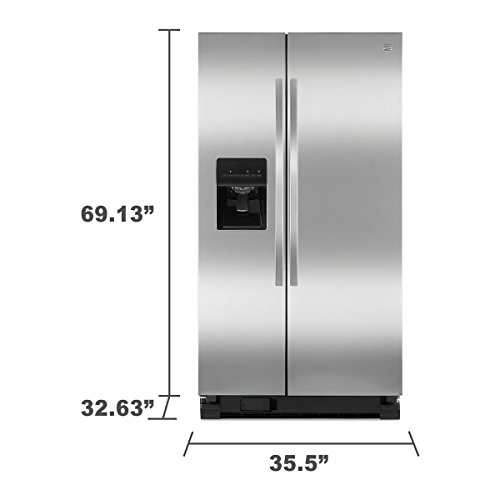 Kenmore-254-cuft-Side-by-Side-Refrigerator-in-Stainless-Steel-0-1