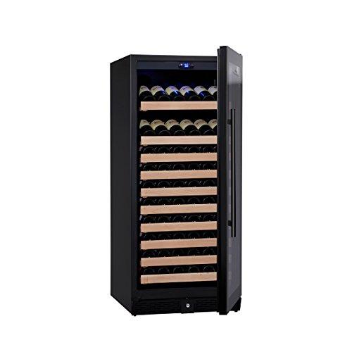 KingsBottle-98-Bottle-Single-Zone-Wine-Cooler-Borderless-Black-Glass-Door-0-0