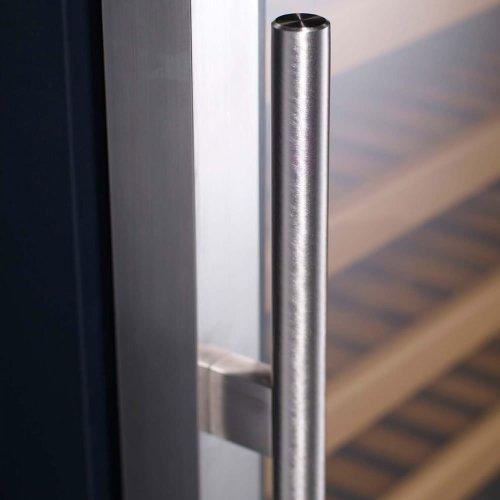 KingsBottle-98-Bottle-Single-Zone-Wine-Cooler-Borderless-Black-Glass-Door-0-1