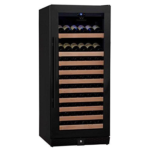 KingsBottle-98-Bottle-Single-Zone-Wine-Refrigerator-with-Full-Glass-Door-0