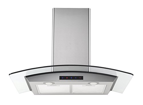 Kitchen-Bath-Collection-HA75-LED-Stainless-Steel-Wall-Mounted-Kitchen-Range-Hood-with-Tempered-Glass-Canopy-and-Touch-Screen-Panel-30-0-0