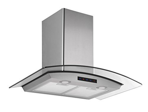 Kitchen-Bath-Collection-HA75-LED-Stainless-Steel-Wall-Mounted-Kitchen-Range-Hood-with-Tempered-Glass-Canopy-and-Touch-Screen-Panel-30-0-1