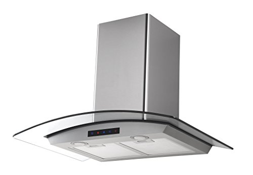 Kitchen-Bath-Collection-HA75-LED-Stainless-Steel-Wall-Mounted-Kitchen-Range-Hood-with-Tempered-Glass-Canopy-and-Touch-Screen-Panel-30-0