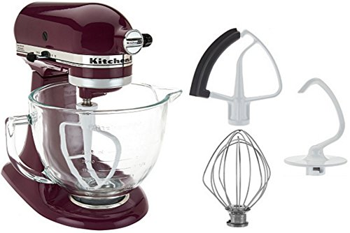 KitchenAid-KSM105-5-Qt-Tilt-Head-Stand-Mixer-with-Glass-Bowl-0
