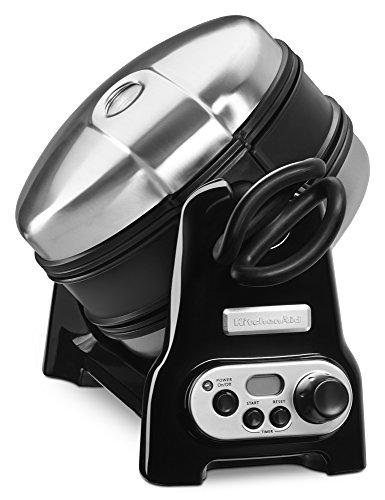 KitchenAid-KWB110OB-Waffle-Baker-with-CeramaShield-Nonstick-Coating-Onyx-Black-Discontinued-0-1