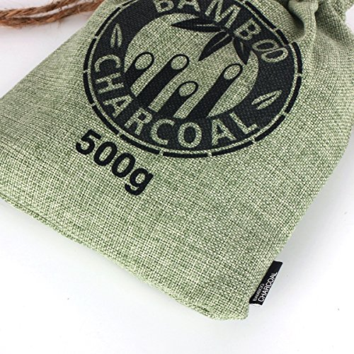 Kmise-Reusable-Bamboo-Charcoal-Bag-Odor-Deodorizer-Air-Purifying-Freshener-4-x-500g-All-Nature-Bamboo-for-Home-Cars-Closets-Bathrooms-and-Pet-Areas-0-10