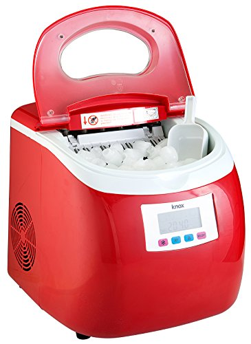 Knox-Portable-Compact-Ice-Maker-wLCD-Display-28-Liter-Water-Reservoir-3-Selectable-Cube-Sizes-Yield-of-up-to-265-Pounds-of-Ice-Daily-0-0