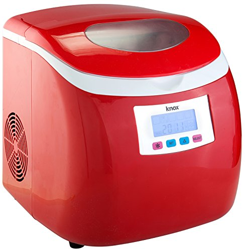 Knox-Portable-Compact-Ice-Maker-wLCD-Display-28-Liter-Water-Reservoir-3-Selectable-Cube-Sizes-Yield-of-up-to-265-Pounds-of-Ice-Daily-0