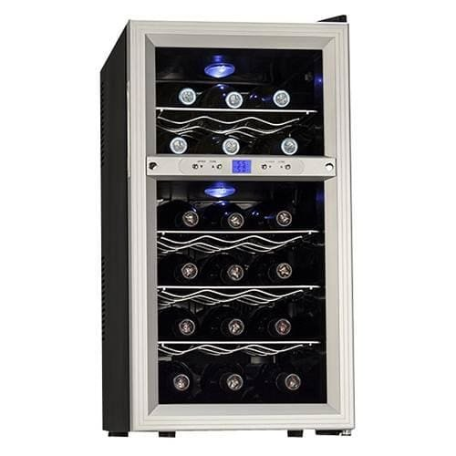 Koldfront-18-Bottle-Dual-Zone-Freestanding-Thermoelectric-Wine-Cooler-0-0