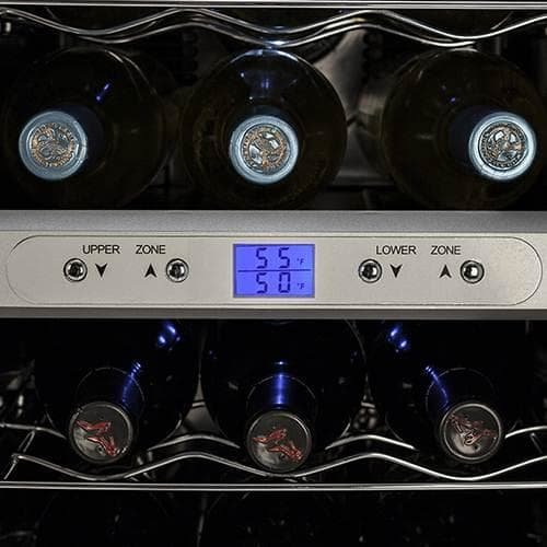 Koldfront-18-Bottle-Dual-Zone-Freestanding-Thermoelectric-Wine-Cooler-0-2