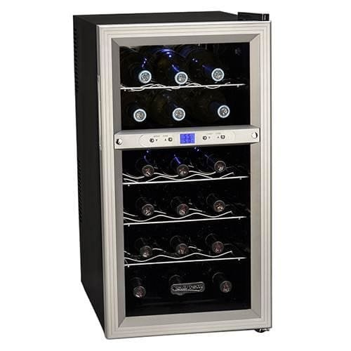 Koldfront-18-Bottle-Dual-Zone-Freestanding-Thermoelectric-Wine-Cooler-0