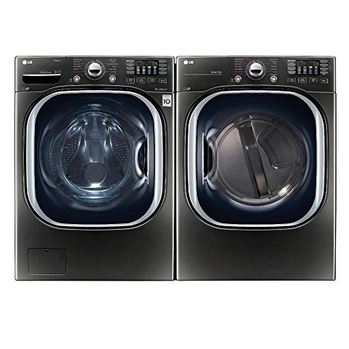 LG-Turbo-Series-Ultra-Capacity-Laundry-System-with-ELECTRIC-Dryer-In-Alluring-Black-Stainless-WM4370HKADLEX4370K-0