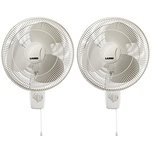 Lasko-16-Inch-Oscillating-3-Speed-3-Blade-Pull-Cord-Wall-Mount-Fan-2-Pack-0