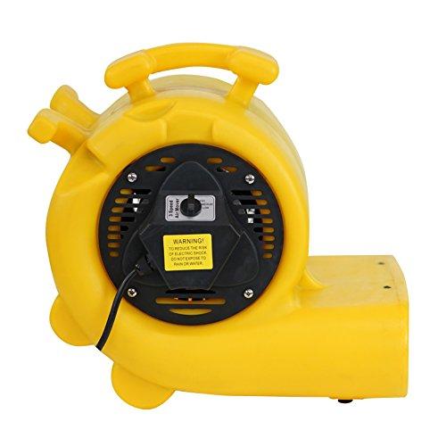 MOUNTO-3-Speed-34HP-3000CFM-Air-Mover-Floor-Carpet-Dryers-0-2
