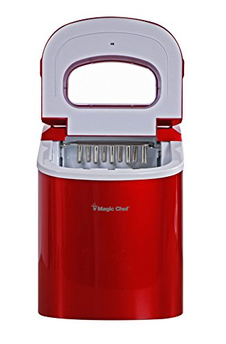 Magic-Chef-MCIM22R-Ice-Maker-27-lb-Red-0-2