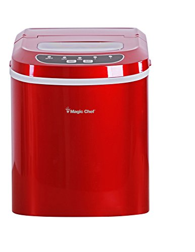 Magic-Chef-MCIM22R-Ice-Maker-27-lb-Red-0