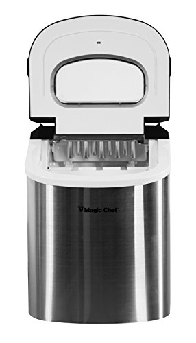 Magic-Chef-MCIM22ST-27-lb-Ice-Maker-Stainless-Steel-0-2