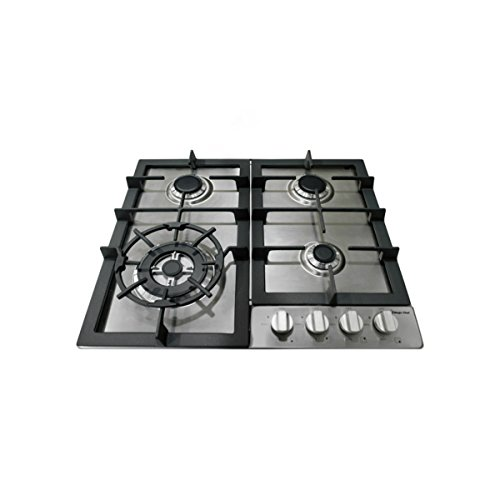 Magic-Chef-MCSCTG24S-24-Gas-Cooktop-with-4-Burners-Stainless-Steel-0-0
