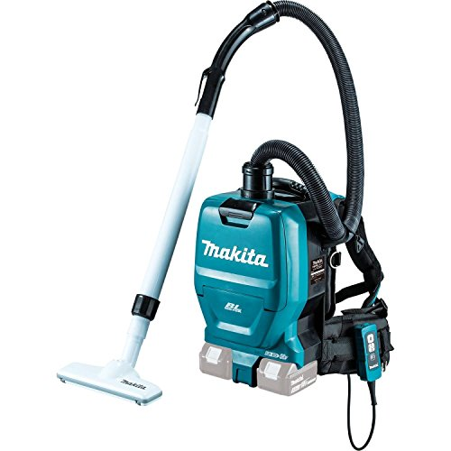 Makita-XCV05Z-18V-X2-LXT-Lithium-Ion-Brushless-Cordless-12-gallon-HEPA-Filter-Backpack-Vacuum-0