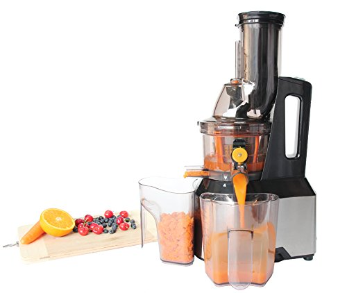 Masticating Slow Juicer Anti Oxidation Wide Chute Makes Tastier Fruit Juice Vertical Cold