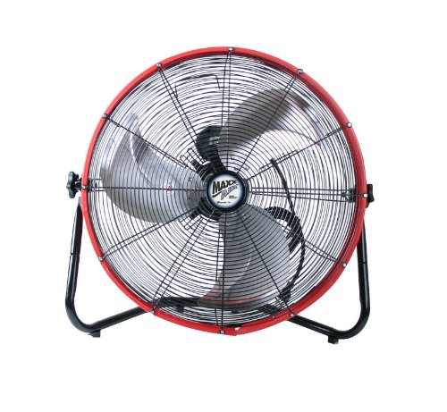 MaxxAir-HVFF-20S-REDUPS-Shroud-Floor-Fan-20-Inch-Red-0