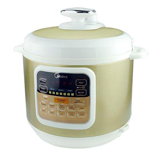 Midea-My-cs6002w-7-in-1-Multi-Functional-Programmable-Power-Pressure-Cooker-Stainless-Steel-6Qt1000W-0
