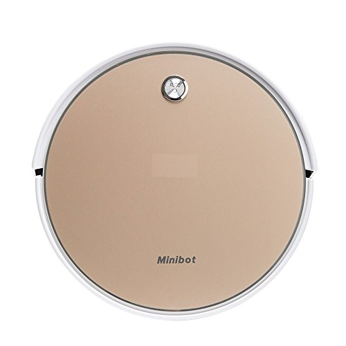 Minibot-X5-Robot-Vacuum-Cleaner-For-Hard-Floor-Pets-Hair-Carpet-Golden-0