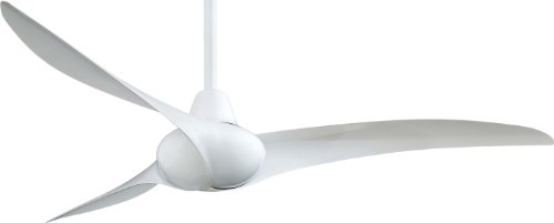 Minka-Aire-F843-WH-Wave-White-52-Ceiling-Fan-with-Remote-Control-0