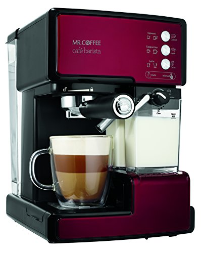 Mr-Coffee-Cafe-Barista-Espresso-Maker-with-Automatic-milk-frother-BVMC-ECMP1000-0