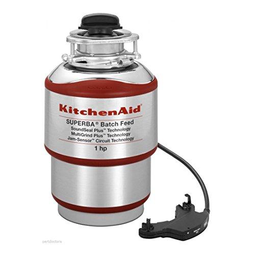 NEW-KitchenAid-1HP-Batch-Feed-Food-Waste-Disposer-Garbage-Disposal-KBDS100T-0
