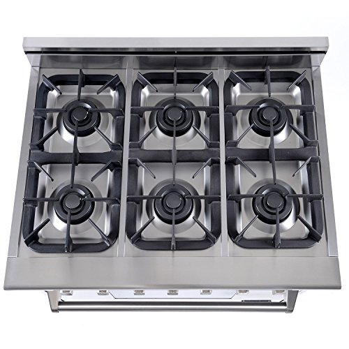 Nxr Elite Stainless Steel 36 Gas Range With Convection