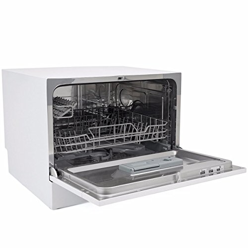 New-Countertop-Dishwasher-white-Portable-Compact-Energy-Star-Apartment-Dish-Washer-0-2