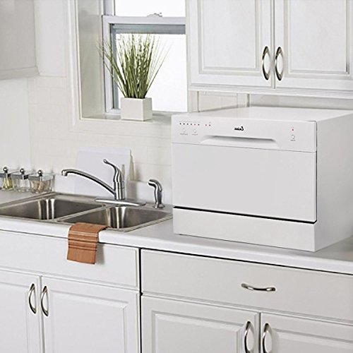 New-Countertop-Dishwasher-white-Portable-Compact-Energy-Star-Apartment-Dish-Washer-0