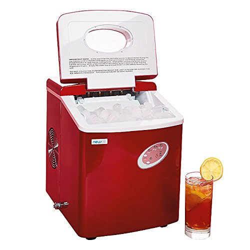 NewAir-AI-100R-28-Pound-Portable-Icemaker-Red-0