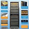 NewAir-AWR-1600DB-Premier-Gold-Series-160-Bottle-Built-In-WIne-Cooler-StaInless-SteelBlack-0-1